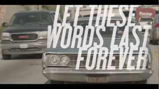 "We Came As Romans - ""Let These Words Last Forever"" (Lyric Video) Equal Vision Records"