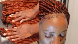 sewing box braids