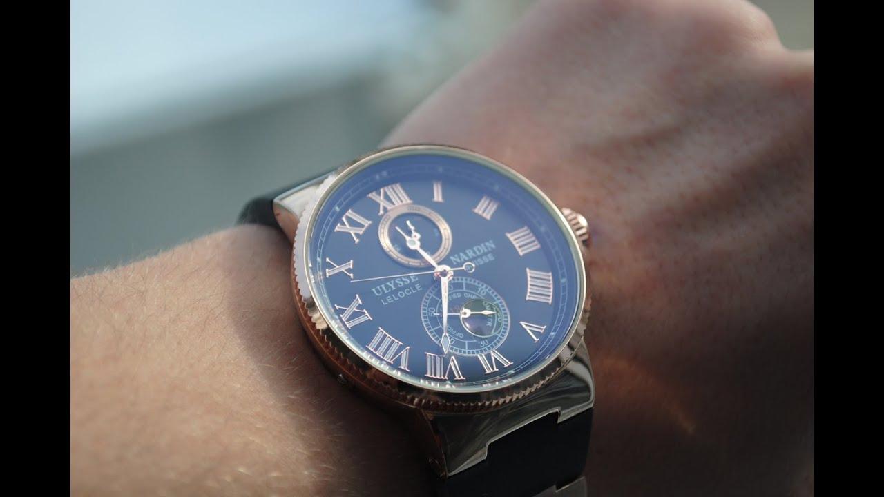 Непревзойденное качество и безупречный дизайн вот что отличает наручные часы ulysse nardin. Мы рады видеть вас в бутике timecity!