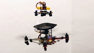 Flying batteries: In-flight battery switching to increase multirotor flight time