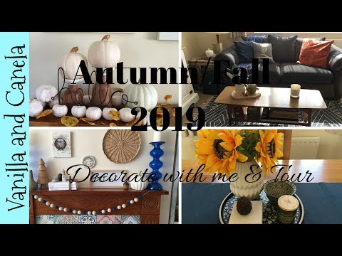 Autumn/Fall Decorate with me & House Tour - UK 2019