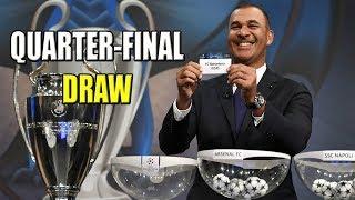 UEFA CHAMPIONS LEAGUE QUARTER-FINAL DRAW 2018