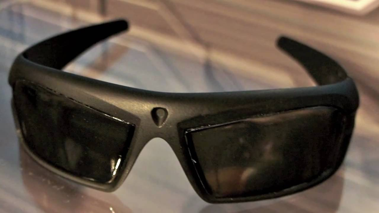 44305b4b54 SpyNet Stealth Video Glasses Toy Fair 2011 Preview - YouTube