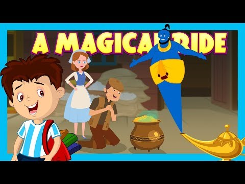 A Magical Ride || Bedtime Stories For Kids - Moral To Learn For Kids || KIDS HUT STORIES
