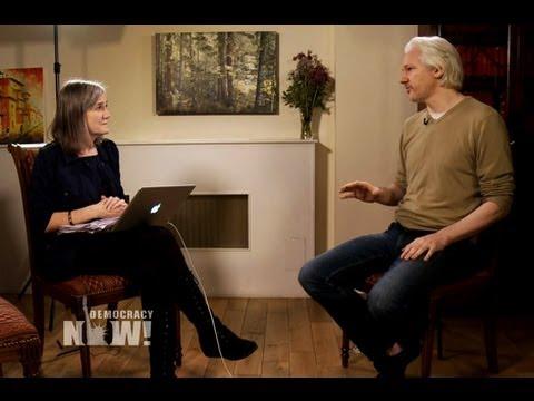 Julian Assange on Aiding Snowden, Tiff w/ The Intercept & Whether He'll Ever Leave Embassy Refuge