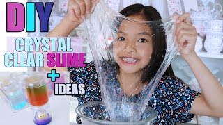 EASY CRYSTAL CLEAR DIY SLIME!!!