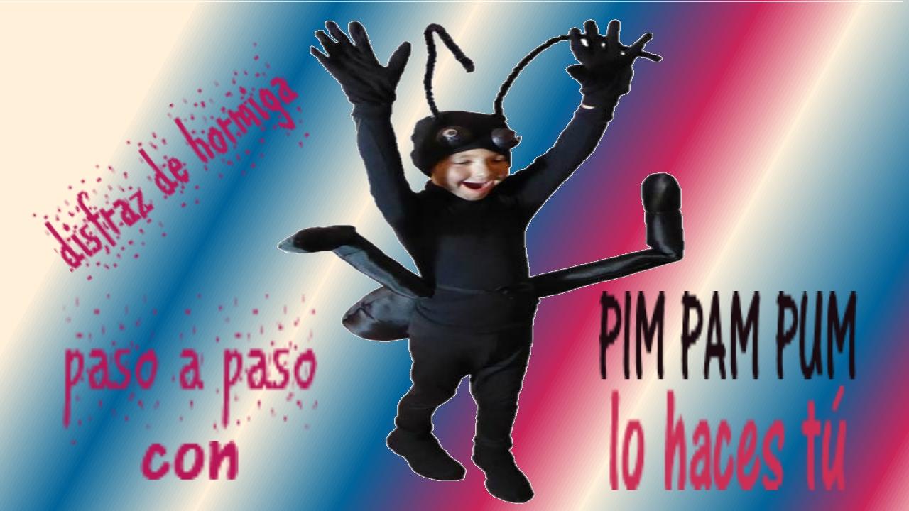 Disfraz Original De Hormiga Paso A Paso Manualidades Youtube