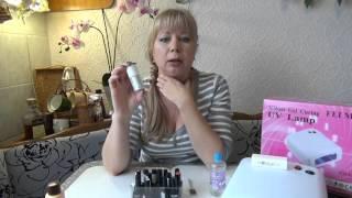 видео набор для покрытия гель лаком