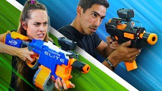 NERF Modded Gun Showdown!