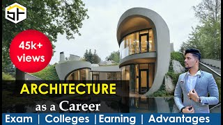 ARCHITECTURE as a Career in India / advantages & disadvantages / NATA exam / college life