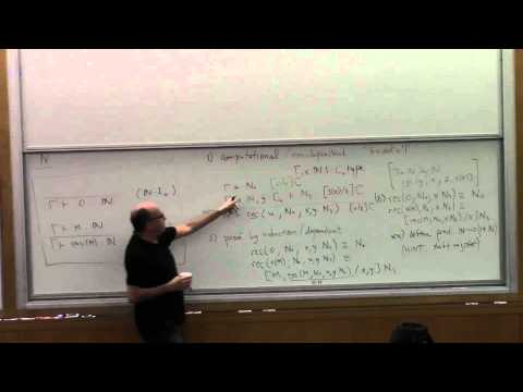 Type Theory Foundations, Lecture 4
