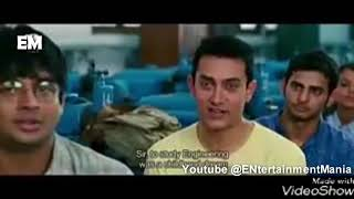 3 idiots - Engineering Whatsapp Status Video || Best Dialogue by Aamir Khan