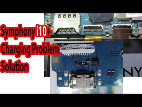 Symphony I10+ Charging Problem Solution With Jumper By Gsmhridoy Bangla
