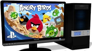 RPCS3 Playstation 3 Emulator - Angry Birds Trilogy, Gameplay, OpenGL with LLE