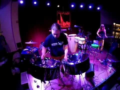 Rudy Slizewski steel drum solo - Wilmington,