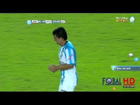 Golazo del Pulga Rodriguez. Independiente 0 - Atlético Túcuman 2   B Nacional - Fecha 25