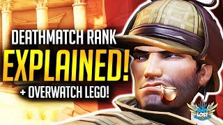 Overwatch Deathmatch Rank Explained / New Maps and Heroes FASTER!