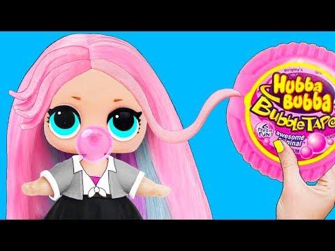 12 Невероятно Простых ЛАЙФХАКА и поделок с КУКЛАМИ ЛОЛ Сюрприз! Мультик LOL Surprise toy LIFE HACKS - Видео онлайн