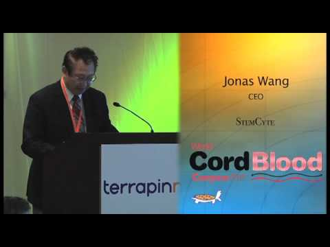 Jonas Wang of StemCyte on joint public and private banking - at World Cord Blood Congress 2012