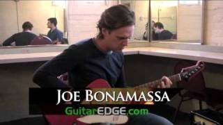Backstage with Joe Bonamassa HQ (GuitarEdge.com)