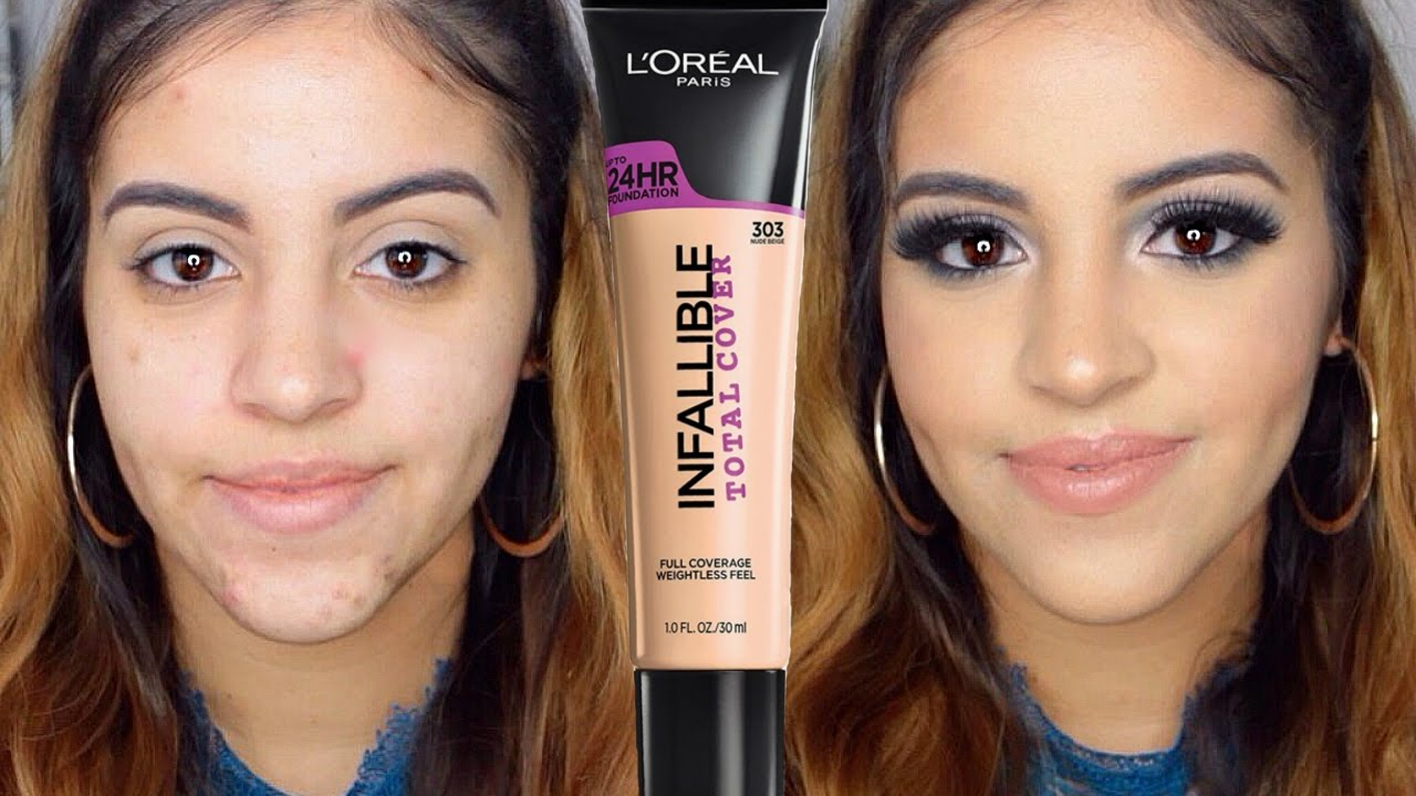 LOreal Infallible Total Cover Foundation Review - Makeup