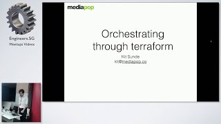 Orchestration of AWS S3 & CloudFront with Terraform - AWS User Group Singapore