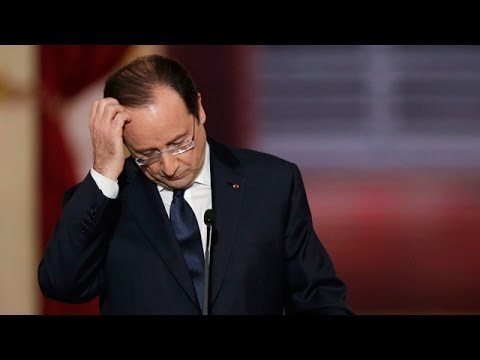 Francois Hollande dodges affair question