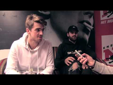 The Chainsmokers interview on Radio NRJ Finland