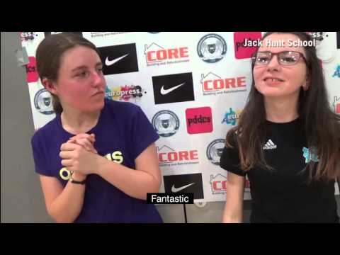 Katie and Channe talk about female Deaf Football training