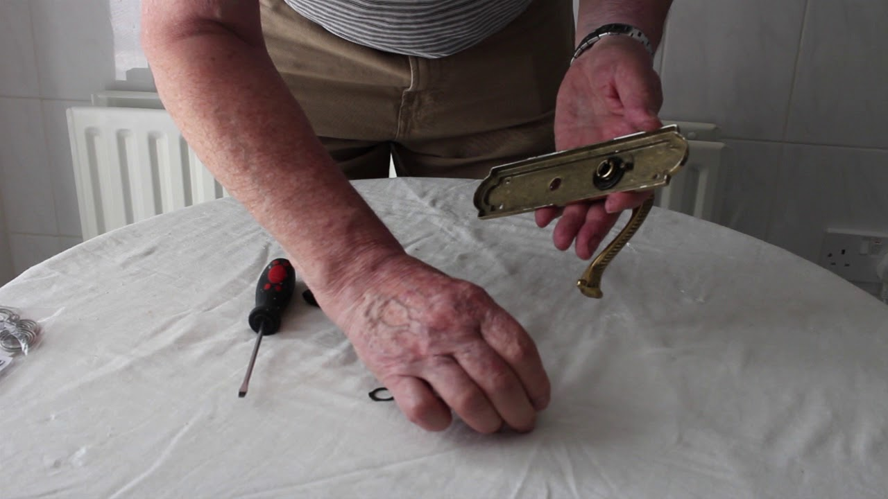 How To Fit And Renew A Door Handle Spring | ItsTheRepairMan | Door ...