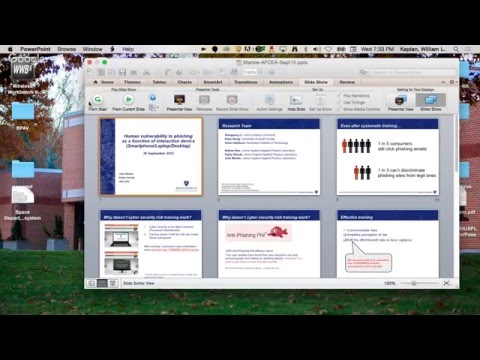Human Systems Engineering - Vulnerability to Phishing - 21 Oct 2015