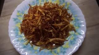 jhorjhora aloo vaji recipe | spicy potato fried recipe