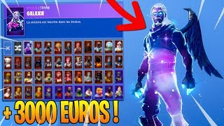 MY SKINS COLLECTION on Fortnite! (3000 EUROS)