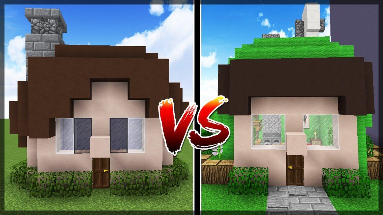 Minecraft CASA JAZZGHOST VS CASA SPOK  YouTube
