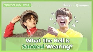 Watch Sandeul & Gongchan From B1A4 Dance Zumba [Future Diary_EP.09] • ENG SUB • dingo kdrama