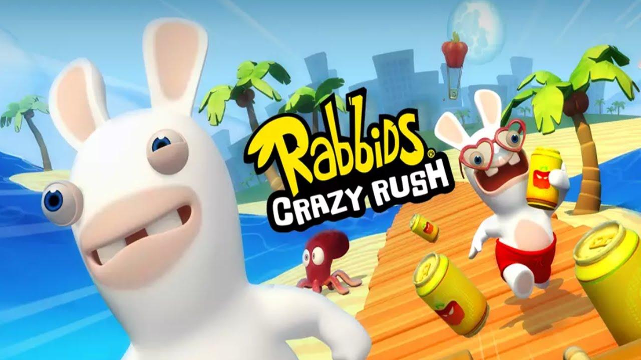 rabbids crazy rush