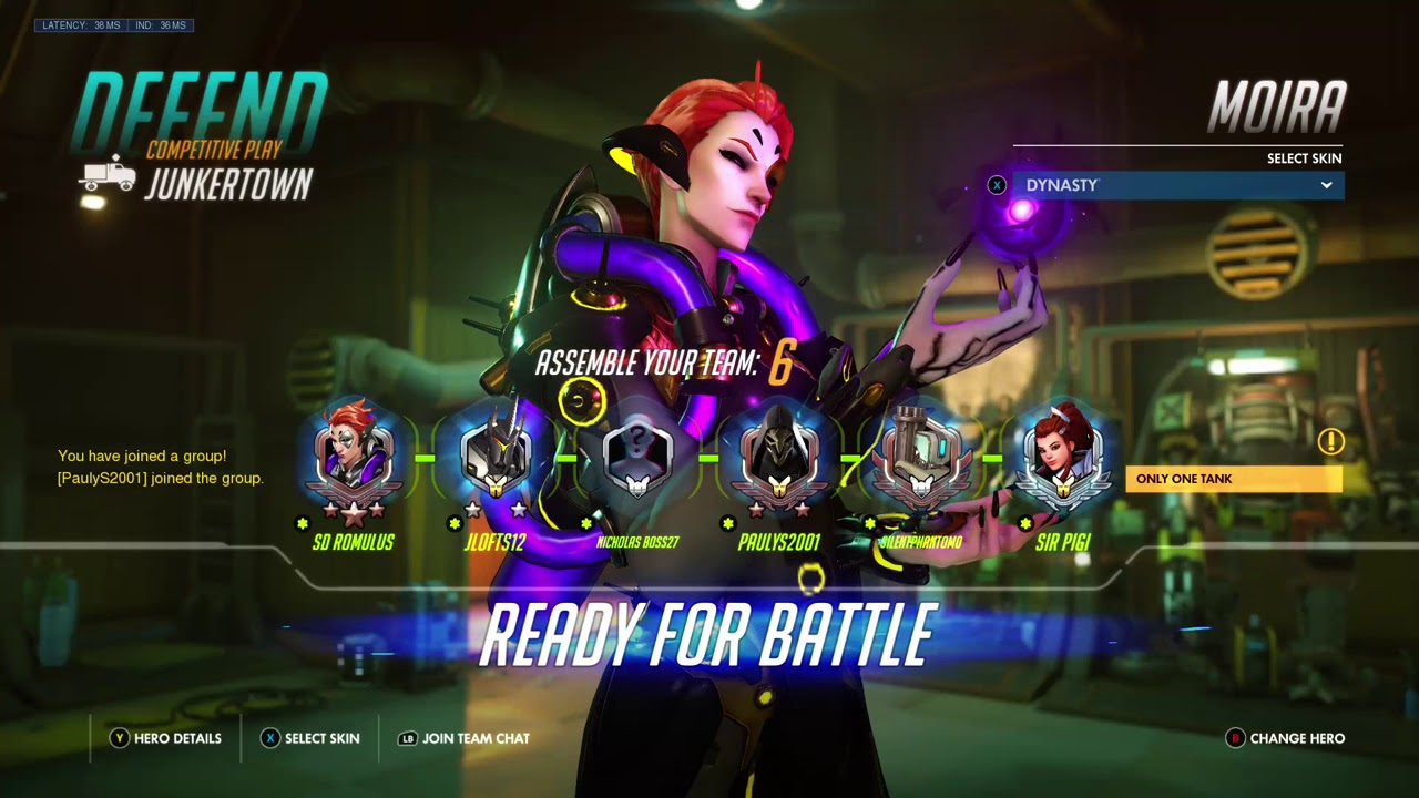 Overwatch Competitive Livestream - With Horrific Lag Spikes Towards The  End! (May 20, 2018)