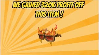 WE GAINED 320k OFF THIS ITEM! Roblox Trading Episode 5