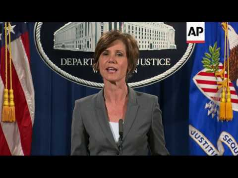 Sally Yates, DoJ Boss At Close Of Obama Era, Due In Senate ...