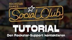 Wie man den Support von Rockstar Games [GTA5] kontaktieren bzw. anschreiben kann → Tutorial