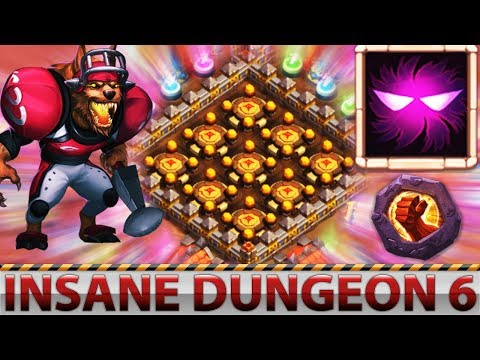 Anubis | 8/8 UNHOLY PACT | INSANE DUNGEON 6 | Must Watch | CASTLE CLASH