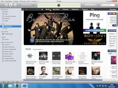 Musik über den iTunes Store kaufen Pinnacle Studio 14 15 Diaschau