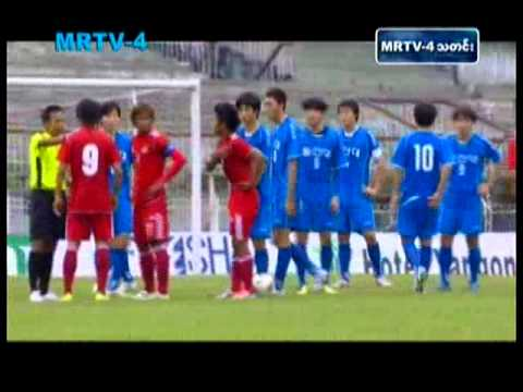 Football - Myanmar vs Singapore in Brunei