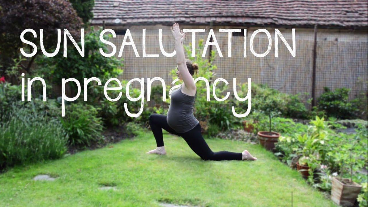 Sun Salutation In Pregnancy