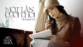 Một Lần Cuối Thôi - Hồ Ngọc Hà (Official Music Video)