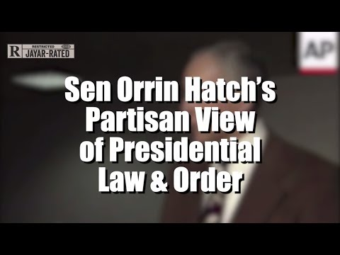 The Hypocrisy of Orrin Hatch