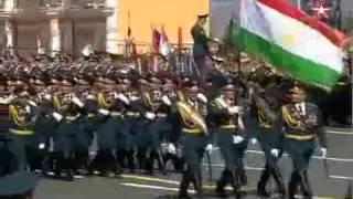 Проход иностранных войск на Параде Победы в Москве 2015