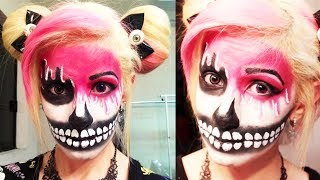 ➵ Maquillaje Para Halloween ☠ Cara Derretida ✝ - Miranda Ibañez