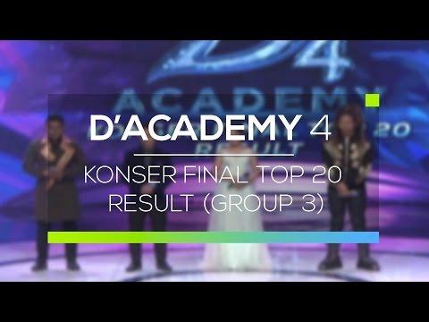 Highlight D'Academy 4 - Konser Final Top 20 Result (Group 3)