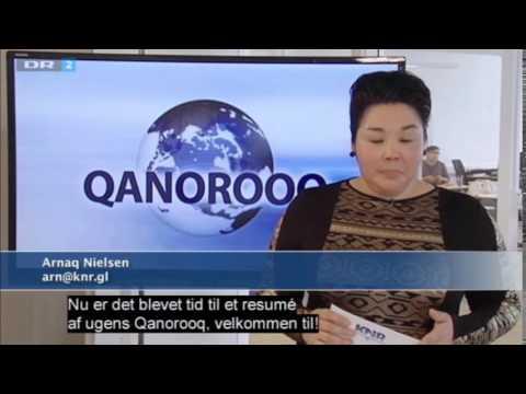 DR2 - Qanorooq (Greenland News) Intro - 2014